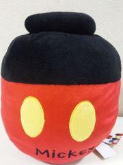 Disney/ミッキーマウス壺型ぬいぐるみ収納☆お片付けに