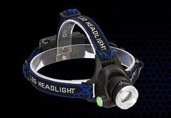 登山高機能▲3段切替1800LM最新CREE LEDヘッドライト