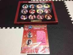 AKB48 ラストスペシャル賞缶バッチセット、缶バッチ&ステッカー