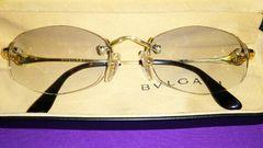 18k 750 18kブルガリ眼鏡 ビーゼロワンオニキス
