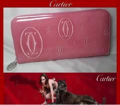 Cartier L3001255 ハッピーバースデー 長財布 ピンク  本物 新品