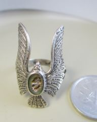 Silver925 Ring  純銀  *Eagle*  鷲     17号  R20
