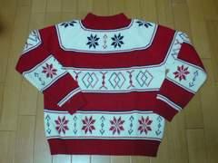 JC Penny【ジェイシーペニー】雪柄セーター