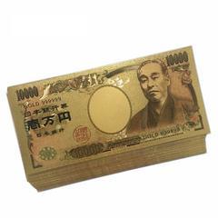 【送無】24K 純金箔1万円札ゴールド開運風水金運ゾロ目★
