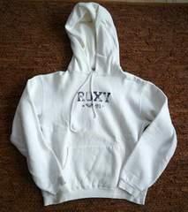 ROXY-ロキシーパーカ 白L正規品