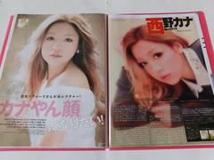 西野カナ◇切り抜き20ページファイル冊子◇