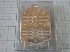 038●リラックマ 小判 銀色 シルバー 2010年 ストラップ 非売品