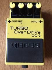 Boss OD-2 ボス ターボ オーバードライブ エフェクター