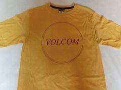 USA購入 ボルコム【Volcom】ロゴプリントTシャツUS XLイエロー