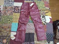studio312合皮 レザーパンツ・ズボン140�p