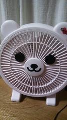 セシル★新品ノベルティ!セシルベアアロマ扇風機