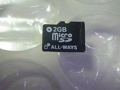 ほぼ未使用品*2GBメモリ* 送料無料