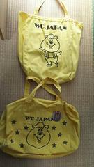 wcクマタンBIGトートバッグ、スポーツバック