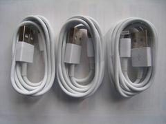 新品 iPhone 転送・充電ケーブル iPhone用 3本【白】