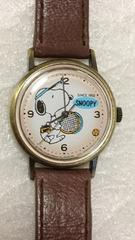 腕時計 スヌーピー レトロ風 手巻き