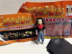 ドラゴンボールコミックス背表紙フィギュア人造人間17号コカコーラオリジナル