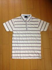 TK MIXPICE タケオキクチ ボーダーポロシャツ