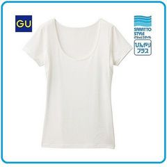 新品汗脇パット付で速乾で抗菌防臭 ストレッチ素材TシャツM