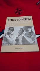 JYJ THE BEGINNING MAKING BOOK&DVD