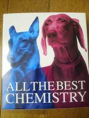 CHEMISTRY   ALL THE BEST  初回生産限定盤  2CD+1DVD