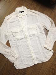 美品DESIGN WORKS デザインシャツ 日本製 アバハウス