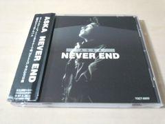 ASKA CD「NEVER END」飛鳥涼 CHAGE&ASKA★