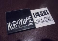 黒夢/EMI/1994-1998BEST/2枚組ベスト/清春SADS