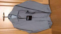 激安80%オフコンパクト、防水、ジャケット(新品タグ、灰、L)