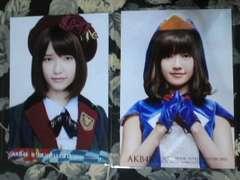 送込AKB48島崎遥香DVD封入特典生写真2枚セット