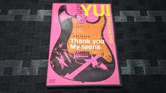 【DVD】YUI/Thank you My teens