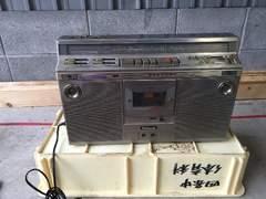 希少!ナショナル昭和レトロなラジカセRX-5300ちょい難あり