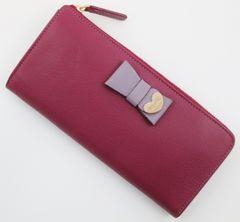 お買い得☆新品 ポールスミス 長財布 ローズ n114