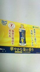 【伊藤園当選品】特定保健用食品QUOカード(500円分)