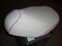 ライブディオ ZX AF34・35 白・ピンクカバー 送料込み