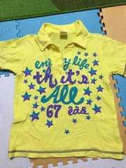 エーアーベー!男の子110!半袖Tシャツ!
