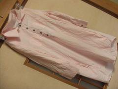 ピンクチュニックシャツワンピース*クリックポスト164円