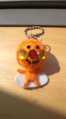 アンパンマン風丸人形キーホルダーオレンジ