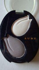 未使用AUBEデュオアイシャドウホワイト&グレイ
