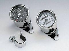 J2] 510-001W キジマ 汎用 220�q/h スピードメーター 白パネル