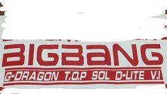 ハンドメイド BIGBANG ステッカー 標準色