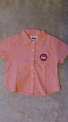 120�p・チェックの半袖シャツ