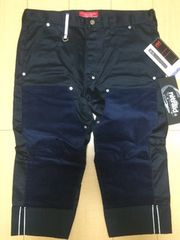 nitraid DOUBLE KNEE ROLL UP PANT(NAVY/L)(10A/W)