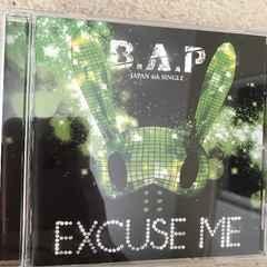 新品☆B.A.P(びえぴ)excuse me☆トレカあり☆韓国韓流