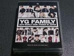 DVD-BOX�uYG FAMILY 2014�v3���gBIGBANG�ޯ�����2NE1WINNER ����