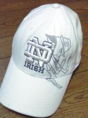 IRISH キャップノートルダム大学  2個セット