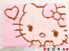【キティ】可愛いバスマット/玄関マット�B
