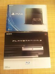 PS4本体+PS3本体セット 60GB 初期型 PS2