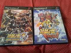 PS2☆スーパーロボット大戦シリーズ4本☆まとめ売り♪状態良い♪