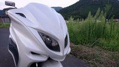 マジェスティ250 自賠責平成30年7月 タイヤ交換済み 不具合なし