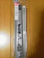 新品〓おじぱん★お箸セット/グレー♪